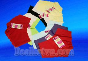 Bộ 04 chiếc quần lót Su không đường may Quyến Rũ và Tự Tin diện các trang phục bó sát mềm mịn, thoáng mát, giá chỉ 90.000đ giảm giá 48% chỉ có tại Dealhotvn.com!