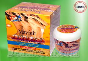 Chỉ với 195.000đ có ngay hộp kem tẩy thâm toàn thân cao cấp Mayfair. Tẩy sạch tế bào chết, tái tạo làn da mới, duy trì độ ẩm và mềm da. Chỉ có tại Dealhotvn.com!
