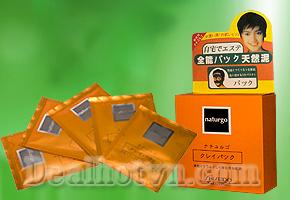 Bộ 10 gói Mặt nạ bùn lột mụn Naturgo Shiseido giá chỉ có 48.000đ, giúp sạch lỗ chân lông, loại bỏ mụn cám, mang lại làn da trơn mịn, hồng hào. Chỉ có tại Dealhotvn.com!