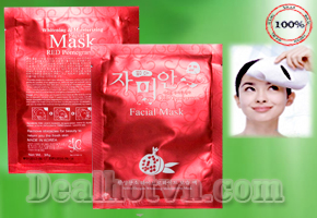 Mặt nạ trắng da Red Pomegranate Facial Mark