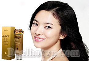 Kem Nền BB Collagen Mayfiece có tinh chất collagen và chỉ số chống nắng SPF45 +/PA ++ giúp da luôn mịn màng trẻ đẹp, với giá 69.000đ ưu đãi giảm giá chỉ có tại Dealhotvn.com!