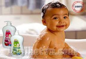 Sữa Tắm Gội Soft Bunny Baby Với Công Thức Không Cay Mắt, Không Chứa Xà Phòng, Không Kiềm, Nhẹ Nhàng, Không Gây Kích Ứng Lên Mắt. Đã Được Kiểm Tra Nghiêm Ngặt Về Da Liễu, Bảo Đảm An Toàn, Chỉ với Giá 90.000đ.