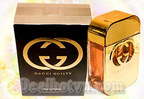 Quà tặng dành cho các bạn nữ mới nhất với Nước hoa Gucci Guilty vào mùa đông năm nay thật quyến rũ, sang trọng chỉ với giá 120.000đ. Chỉ có tại Dealhotvn.com!