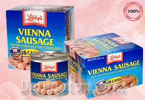Hộp Xúc Xích Libbys Vienna Sausage 130g - Mỹ,  Cung Cấp Dinh Dưỡng Và Năng Lượng Cần Thiết Cho 1 Ngày Làm Việc. Chỉ 24,000đ Cho Giá 36,000đ. Giảm 46%