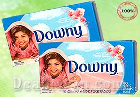 Cho quần áo và không gian luôn thơm mát với hộp giấy thơm Downy loại mới - Canada 80 miếng chỉ với giá 168.000đ có tại dealhotvn.com!