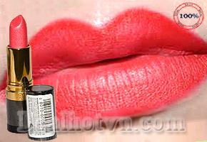 Son Môi Revlon 100% Chính Hãng USA - Với Công Thức Siêu Dưỡng Ẩm Vitamin A Và E, Giữ Màu Sắc Lâu Trôi Đến 16h, Cho Làn Môi Mịn Màng, Gợi Cảm, Quyến Rũ. Giá 135.000đ.