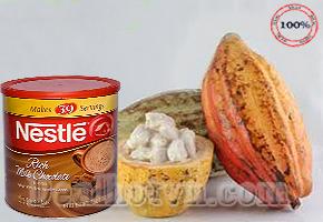 Bột Milk Chocolate Neslte 800gr - USA với dưỡng chất dinh dưỡng cần thiết cho sức khỏe của cả gia đình bạn và hương vị thơm ngon hấp dẫn trị giá 380.000đ nay chỉ còn 225.000đ.