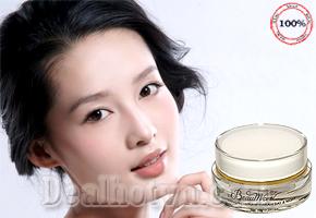 Kem dưỡng trắng da ngày và đêm BEAUMORE  - Korea ngăn cản hiệu quả sự hình thành của mụn đầu đen & tàn nhang giá chỉ có 115.000đ. Chỉ có tại Dealhotvn.com!