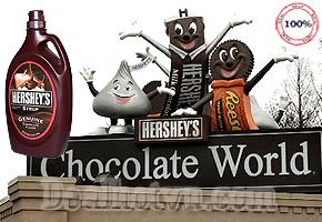 Ngọt ngào hơn với Siro Chocolate Hershey's khi dùng chung các món tráng miệng: kem, bánh bông lan, trà sữa, sinh tố...hàng nhập khẩu từ Mỹ với thể tích 1,36kg, Giảm giá còn 160.000đ. Chỉ có tại dealhotvn.com!