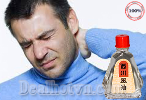 Giảm nhanh các triệu chứng nhức đầu, đau lưng, thấp khớp, bong gân, nhiễm lạnh với combo 6 lọ dầu gió Thái Lan hiệu See Chuan Oil 7ml/ chai, giá 163.000đ tại Dealhotvn.com!