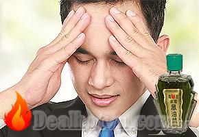 Giảm nhanh các triệu chứng nhức đầu, đau lưng, thấp khớp, bong gân, nhiễm lạnh nhờ Dầu gió xanh Con Ó Singapore với giá giảm còn 75.000đ. Chỉ có tại Dealhotvn.com!