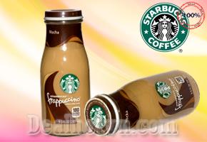 4 CHAI COFFEE SỮA FRAPPUCINO PHA SẴN - USA