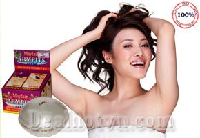 Tự tin diện đồ gợi cảm nhờ Kem dưỡng trắng da vùng nách và khử mùi hôi Mayfair Armpit xuất xứ Thái Lan. Chỉ 98.000đ cho sản phẩm trị giá 170.000đ.