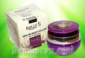 Kem tri mụn cao cấp Kelly's - Loại bỏ mụn chống thâm, ngăn ngừa mụn và dưỡng trắng da cho bạn tự tin hơn khi ra phố giảm giá chỉ còn 88.000đ.