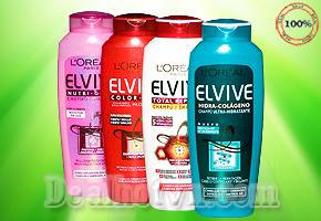 Dầu gội L'ORÉAL Elvive 300 ml – Nhập khẩu Pháp, giúp phục hồi mái tóc hư tổn nhờ hoạt chất linh hoạt cement ceramide đem đến cho bạn mái tóc suông mềm mượt chỉ với giá 85.000đ.