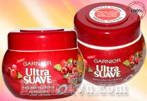 Phục hồi những mái tóc hư tổn do uốn, duỗi, nhuộm, lão hóa với hiệu quả rất cao nhất cùng Kem ủ tóc Garnier Ultra Suave 300ml – Pháp, trị giá 180.000đ nay giảm chỉ còn 59.000đ.
