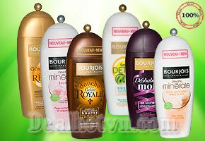 Chăm sóc da trắng mịn mỗi ngày, hương thơm dịu nhẹ với sữa tắm  nhập khẩu từ Pháp thương hiệu Bourjois 250ml, giảm giá chỉ còn 69.000đ.