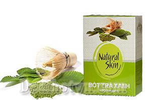 Chỉ với 119.000đ, bạn sẽ sở hữu ngay sản phẩm bột trà xanh Natural Skin có công dụng chữa bệnh, mang lại một làn da trắng sáng hiệu quả, giúp ngăn ngừa lão hóa.