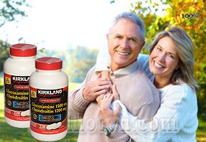 Kirkland Glucosamine 1500 mg & Chondroitin 1200 mg ( 220 viên) hàng nhập khẩu từ Mỹ sẽ giải quyết triệt để các vấn đề mà bạn mắc phải về khớp xương và sụn. Giảm giá chỉ còn 670.000đ.