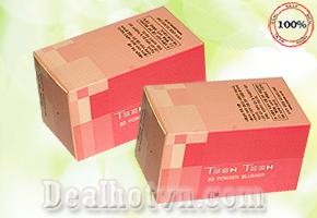 Phấn phủ 3D Teen Teen – Hàn Quốc  giảm giá chỉ còn 48.000đ, hạt phấn mịn màu Color Stay rất thích hợp làn da Châu Á. Giá cực rẻ chỉ có tại Dealhotvn.com!