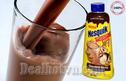 Sữa Nước Chocolate Nesquik Của Nestle Hoa Kỳ 623,6 ml/ chai – Rất Bổ Dưỡng Dùng Cho Cả Người Lớn Và Trẻ em. Combo 2 chai Chỉ 162,000đ, Cho Sản Phẩm Trị Giá 220,000đ.
