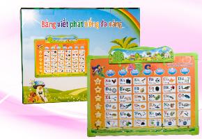 Bảng viết phát tiếng đa năng, món đồ chơi giúp bé phát triển tư duy ngôn ngữ, kích thích khả năng học hỏi của bé. Sử dụng cả tiếng anh và tiếng việt. Chỉ có 135.000đ đang có tại Dealhotvn.com!