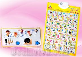 Bảng treo học chữ Tiếng Việt và Số bằng điện tử hiệu Bibiworld dành cho bé từ 0 - 6 tuổi,  Ba mẹ hãy cùng bé học thật chăm chỉ và vui vẻ. Sản phẩm trị giá 150.000đ chỉ còn 85.000đ bán tại Dealhotvn.com!