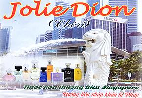 JOLIE DION ( CHÉRI) NƯỚC HOA THƯƠNG HIỆU SINGAPORE - HƯƠNG LIỆU NHẬP KHẨU TỪ PHÁP