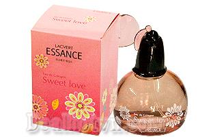 Nước hoa khoảnh khắc ngọt ngào Essance Lacvert EDC Sweet love 60ml – làm khơi dậy sự dịu dàng và trong sáng, gợi cảm giác hạnh phúc tràn đầy trong những khoảnh khắc ngọt ngào của tình yêu thăng hoa. Giá chỉ còn 169.000đ.