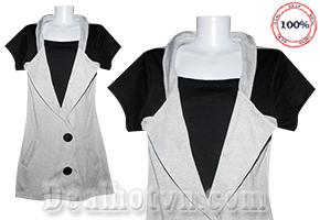 Mỗi màu sắc mang một vẻ đẹp riêng của nó, Đầm Thun công sở nhập từ Thái cho các bạn những bộ thiết kế thời trang công sở, trang nhã, nữ tính. Giá 95.000đ. Đang có tại Dealhotvn.com!
