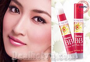 Son dưỡng làm hồng môi BB Natural Pink Magic Lip được nhập từ Thái giúp môi luôn mềm mượt, căng mọng. Giảm giá còn 69.000đ.
