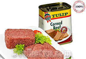 PATE TULIP CORNED BEEF 340G - PHÁP
