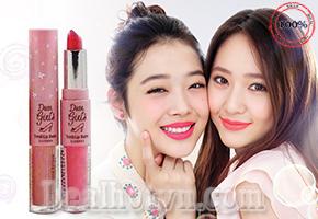 Sở hữu ngay sản phẩm son môi Dear Girls Sivanna 2 đầu cao cấp của Thái Lan chỉ với 59.000đ, Một làn môi trẻ trung và quyến rũ đang đón chờ bạn!