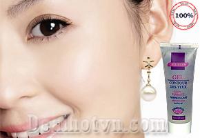 Gel xóa nếp nhăn vùng mắt Calliderm do hãng mỹ phẩm cao cấp từ Pháp nghiên cứu và sản xuất giá 165.000đ giảm 46% so với giá gốc 250.000đ Chỉ có tại dealhotvn.com!
