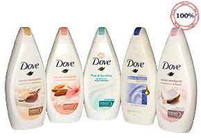 Sữa tắm Dove nhập khẩu Hà Lan - Cho làn da mịn màng, êm ái và lưu giữ hương thơm dịu dàng, sang trọng suốt cả ngày với công nghệ tiên tiến giúp chăm sóc da hoàn hảo hơn. Chỉ 95.000đ cho trị giá 180.000đ.
