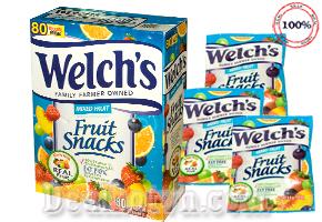 Combo 20 bịch Kẹo Dẻo Trái Cây Welch's – USA. Sản phẩm bổ sung đầy đủ lượng vitamin và khoáng chất cần thiết cho trẻ, giúp trẻ nâng cao hệ miễn dịch, cải thiện chế độ dinh dưỡng, trẻ mau lớn và khoẻ mạnh hơn. Giá chỉ 140.000đ cho trị giá 240.000đ.