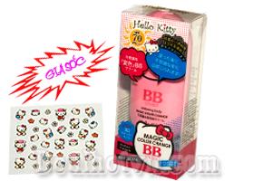 Kem makeup body BB cream Hello Kitty – Janpan, chiết xuất từ thiên nhiên dưỡng da trắng và mịn màng từ bên trong. Với chỉ số chống nắng SPF 70 PA+++ hiệu quả trong việc chống nắng. Chỉ 59.000đ tại Dealhotvn.com!