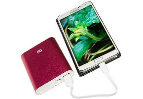 Pin sạc dự phòng Xiaomi 10400 mAh - dung lượng cực lớn dành cho smartphone, tablet, Mp3/mp4 player, máy chơi game PSP.... Giá 420.000đ giảm còn 260.000đ. Chỉ có tại Dealhotvn.com!