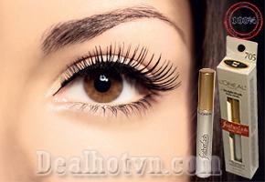 Mascara L'oréal Feather Lash hàng chính hãng USA. Đem Lại Làn Mi Dày, Dài, Cong Vút Cho Phái Đẹp. Sản phẩm giảm 64% chỉ còn 110.000đ Cho Giá Trị Sử Dụng 300.000đ. Chỉ Có Tại Dealhotvn.vn.com!
