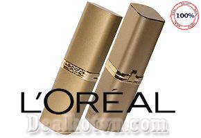 Son Môi L'oréal với thành phần dưỡng ẩm cao, làm cho môi luôn mềm mại, màu sắc tự nhiên. Giá 70.000đ cho sản phẩm trị giá 210.000đ Tại Dealhotvn.com!