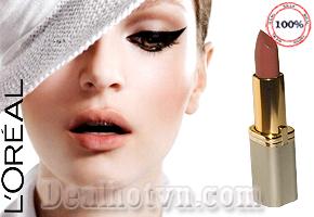 Làn môi căng mọng, gợi cảm với những sắc màu đẹp nhẹ nhàng, tinh tế của son môi L'Oréal hàng nhập từ Italy giảm giá sốc còn 59.000đ.