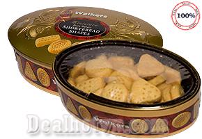 Thưởng thức vị bơ tinh khiết cùng những hương nguyên liệu tuyệt vời nhất từ bánh quy bơ Walkers chính là món quà ý nghĩa dành cho người thân và bạn bè. Giảm giá còn 120.000đ.