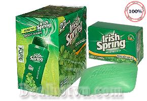 Combo 5 Cục Xà Phòng Irish Spring - USA : Hương thơm được tổng hợp từ hoa cỏ tự nhiên cho hương hơm nhẹ nhàng và bền mùi. Cùng mua nhanh sản phẩm chỉ với 119.000 đồng/5cục tại Dealhotvn.com!