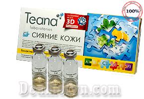 Sirum Collagen tươi Teana C1 3D - Nga làm trắng da, chống lão hóa, ngăn ngừa sản sinh sắc tố làm sạm da, cải thiện giúp làn da sáng hồng rạng rỡ. Chỉ 29.000đ.