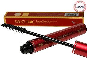 Cho Hàng Mi Dài, Cong Vút, Dưỡng Mi Đẹp Tự Nhiên Với Mascara Power Volume 3W Clinic. Chỉ 98.000đ Cho Giá Trị Sử Dụng 155.000đ, Cơ Hội Tại Dealhotvn.com!