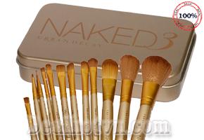 Bộ Cọ Trang Điểm 12 Cây Naked Fashion – Gồm Nhiều Loại Cọ Chuyên Dụng, Đầu Cọ Mềm Mại, Cán Cầm Tay Thoải Mái – Giúp Bạn Gái Thực Hiện Đầy Đủ Các Bước Make Up. Giá 180.000đ, Còn 87.000đ, Giảm 47%. Chỉ Có Tại Dealhotvn.com!