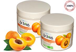 Kem tẩy tế bào chết mặt và toàn thân hương mơ St.Ives Blemish Control Apricot Scrub 283g hàng nhập trực tiếp từ Mỹ. Giá 160.000đ