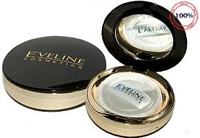 Phấn trang điểm Eveline - Thành phần từ khoáng chất tự nhiên không những cho bạn lớp trang điểm đẹp tự nhiên mà còn cung cấp các dưỡng chất cho làn da mềm mịn như nhung. Giảm giá sốc còn 119.000đ.