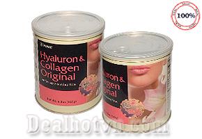 Bí quyết ngăn ngừa lão hóa, trị nám và tàn nhang của phụ nữ & nam giới với Fine Hyaluron & Collagen Original nhập trực tiếp từ USA. Giá 1.590.000đ.