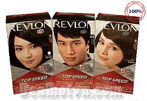 Thuốc nhuộm tóc REVLON phủ bạc siêu tốc - USA: Đem đến chúng ta một màu tóc chuẩn có thể biến  mái tóc bạc trở nên bình thường đáng kinh ngạc chỉ sau 5 phút. Chỉ với giá 165.000đ so với giá gốc 220.000đ.